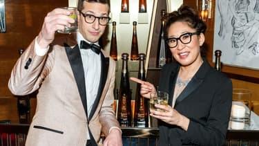 Andy Samberg et Sandra Oh