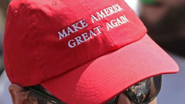 Une casquette Make America Great Again