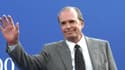 James Garner à Dauville, le 2 septembre 2000.