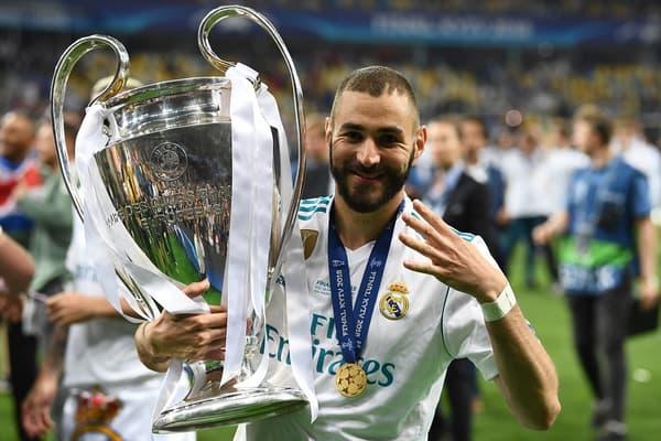 Karim Benzema a remporté quatre fois la prestigieuse Coupe aux grandes oreilles