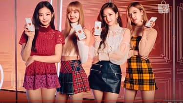 Le groupe de k-pop Blackpink