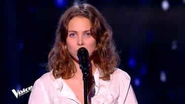 Laura dans The Voice