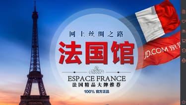 Avec l'ouverture d'un espace dédié, le portail JD.com espère devenir une véritable vitrine du «made in France» avec un chiffre d'affaires de 2,5 à 3 milliards d'euros d'ici à trois ans