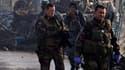 Soldats français près de Kaboul, en Afghanistan.