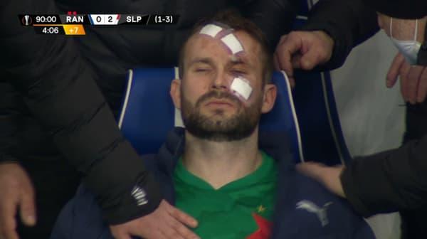 Le gardien du Slavia