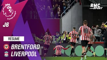 Résumé : Brentford 3-3 Liverpool - Premier League (J6)
