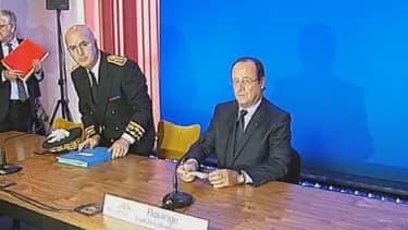 François Hollande a rencontré les syndicats de l'usine ArcelorMittal jeudi matin.