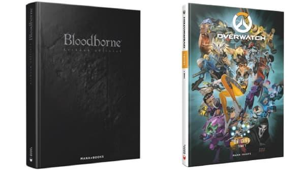 """""""Bloodborne"""" et """"Overwatch"""" font l'objet de guides, beaux livres et Artbooks. -"""