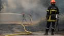 Les pompiers des Bouches-du-Rhône toujours sur le qui-vive