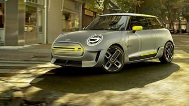 BMW dévoilera officiellement dans 2 semaines au salon automobile de Francfort (Allemagne) un concept de Mini électrique.