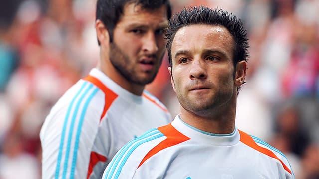 André-Pierre Gignac et Mathieu Valbuena