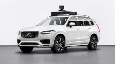 Volvo et Uber poursuivent leur coopération dans le domaine de la voiture autonome avec une nouvelle version du XC90.
