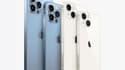 Les iPhone 13, iPhone 13 mini, iPhone 13 Pro et iPhone 13 Pro Max d'Apple