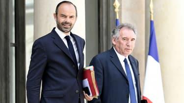 Édouard Philippe et François Bayrou