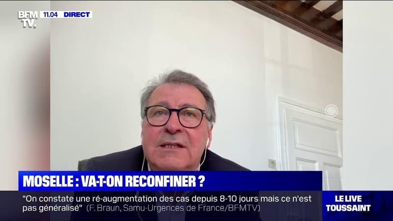 Pierre Cuny, maire de Thionville :