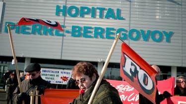 FO-Santé s'inquiète de la mise en oeuvre d'un plan d'économies d'1,2 milliard d'euros concernant les établissements publics de santé. (image d'illustration)