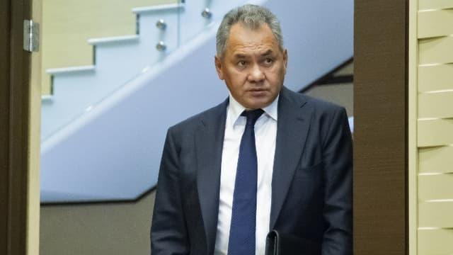 Le ministre de la Défense russe, Sergueï Choïgou.