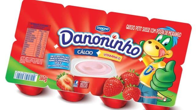 """La marque """"Petit Gervais"""" est présente en Amérique latine sous le nom Daninho"""