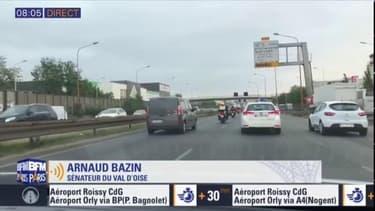 Viaduc de Gennevilliers: le sénateur Arnaud Bazin réclame la gratuité de l'A14