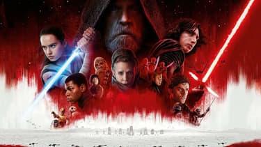 """""""Star Wars - Les Derniers Jedi"""" est sorti dans les salles françaises, le 13 décembre 2017"""
