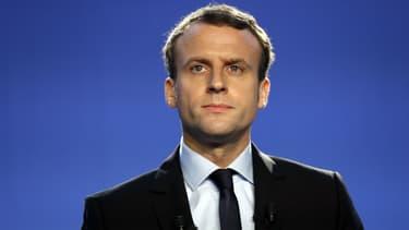 Les jeunes centristes de l'UDI soutiennent Emmanuel Macron, candidat à l'élection présidentielle de 2017. (Photo d'illustration)