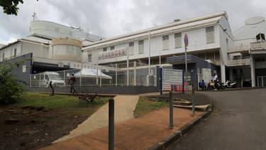 Le centre hospitalier de Mayotte à Mamoudzou où a été hospitalisé la victime avant qu'elle ne décède.