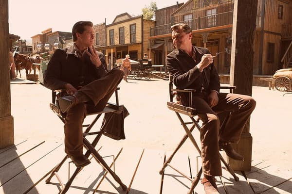 Brad Pitt et Leonardo DiCaprio dans Once Upon a Time … in Hollywood