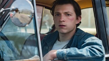 Tom Holland dans The Devill All The Time.