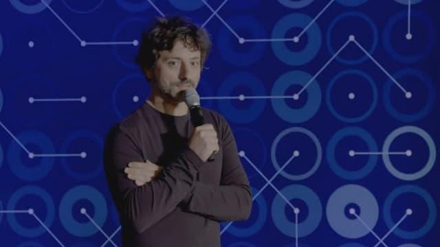 Sergey Brin, le cofondateur de Google, en invité surprise à Séoul après le troisième match opposant AlphaGo à Lee Sedol.