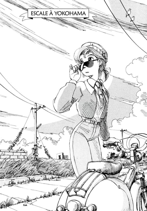 """Le manga """"Escale à Yokohama"""""""