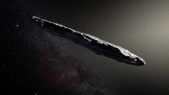 Oumuamua est le premier objet interstellaire observé.