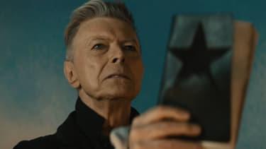 David Bowie dans le clip de Blackstar