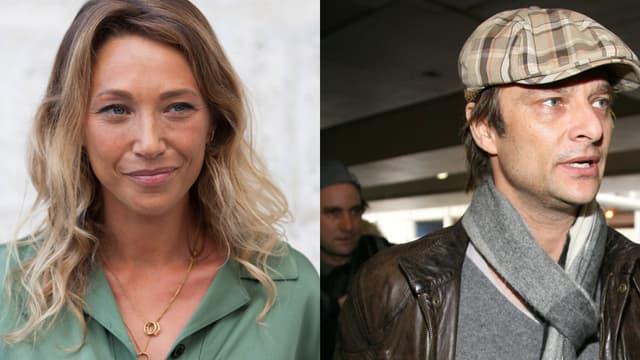 Laura Smet et David Hallyday, les deux enfants aînés de Johnny Hallyday.