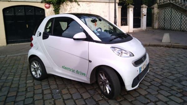 La Smart ForTwo électrique