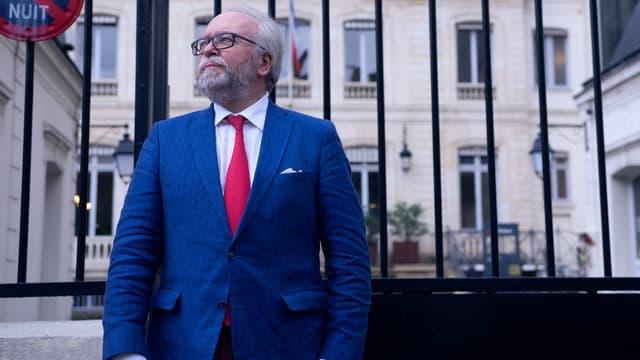Wallerand de Saint-Just, candidat FN aux régionales en Île-de-France, devait venir discuter avec des collégiens du 93.