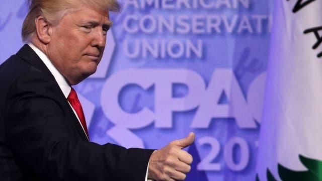 """Donald Trump lors de la """"Conférence d'action politique conservatrice"""""""