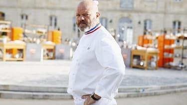 """Le chef Philippe Etchebest aide les restaurateurs dans l'émission """"Cauchemar en cuisine""""."""