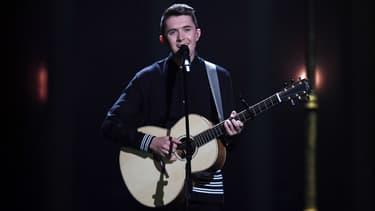 Le chanteur irlandais Ryan O'Shaughnessy dont la prestation a été censuré en Chine