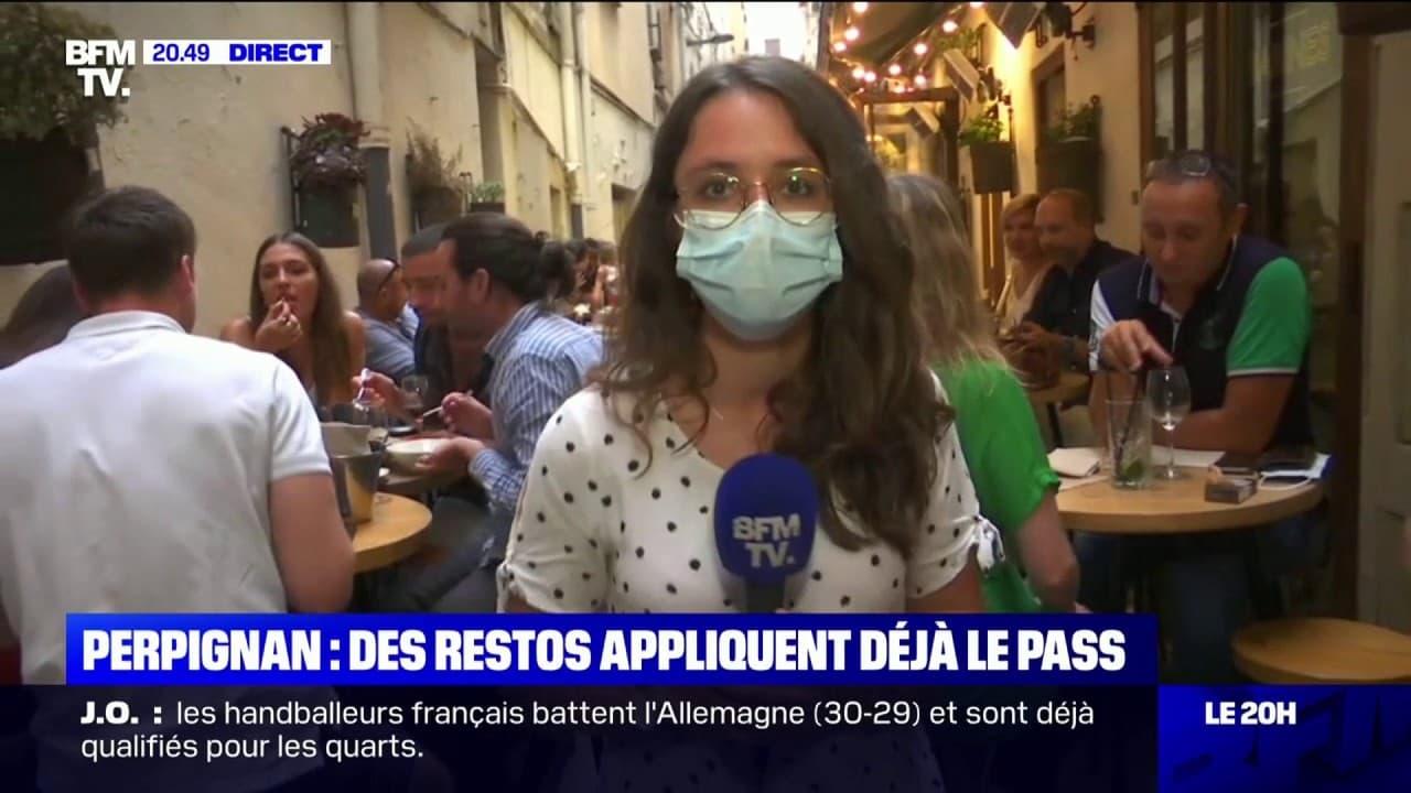 Des restaurants de Perpignan appliquent déjà le pass sanitaire