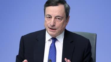 Le mandat de Mario Draghi s'achèvera en 2019.