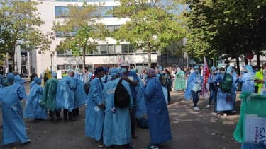Grève Infirmier Anesthésiste - Témoins BFMTV