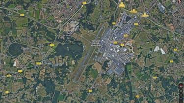 Vue de l'aéroport Nantes Atlantique
