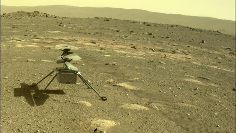 Nasa: le mini-hélicoptère Ingenuity survit à sa première nuit glaciale seul sur Mars