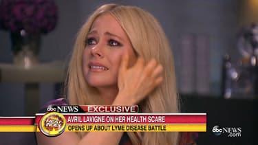 Avril Lavigne fond en larmes sur le plateau de Good Morning America
