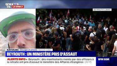 """Beyrouth: un activiste estime que """"le but est de prendre tous les ministères et de redonner le pouvoir au peuple"""""""
