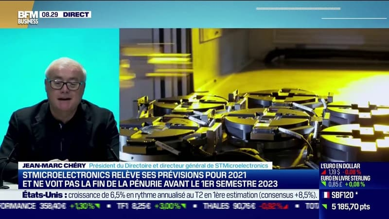 Jean-Marc Chéry, CEO de STMicroelectronics:
