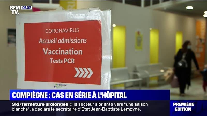 Covid-19: l'hôpital de Compiègne sous tension