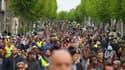 Le ministère de l'Intérieur a déclaré que 24 manifestants et 14 membres des forces de l'ordre ont été blessés lors de la manifestation du 1er-Mai à Paris.