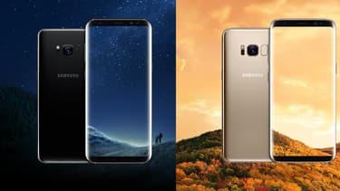 Le Samsung Galaxy S8.