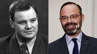 Maurice Thorez et Édouard Philippe